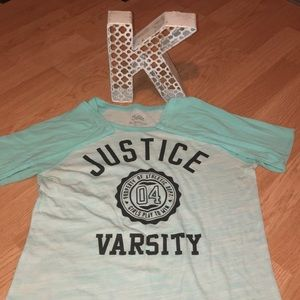 4 for $20 Girls Long Sleeve W/Justice Logo